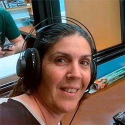 Marta. Copresentadora de Jucal Radio